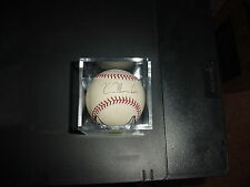 Kevin Mench Autographed Baseball With COA From Texas Rangers