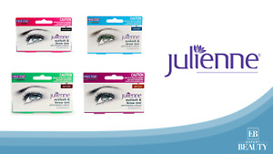 Julienne Permanent Eyelash Eyebrow Tint Colour Dye Lash Tinting + Eye Wand 15ml