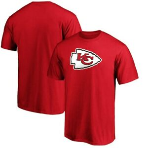 KANSAS CITY CHIEFS NFL TEAM APPAREL SHORT SLEEVE LOGO TEAM RED SHIRT SZ LRG NWT