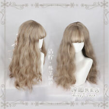 New Sweet Loli Harajuku Gradient Wig Small Fresh Long Curly Hairpiece Cute Woman