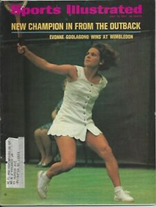 Sports Illustrated; Evonne Goolagong Wins at Wimbledon; July 12, 1971