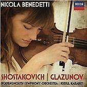 SHOSTAKOVICH, GLAZUNOV NEW CD