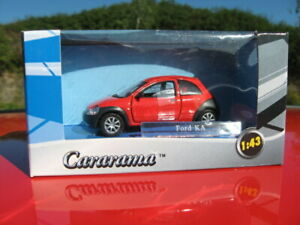 Ford Ka 1996-2008 / Ford Ka rot Cararama / Abrex 1:43