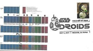 First Day Cover SC#5576 Star Wars Droids D-O May 4 2021