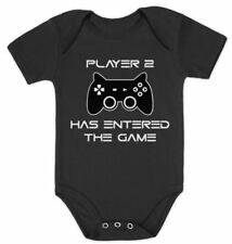 Player 2 Has Entered The Game - Funny Gift Second Child Baby Bodysuit Bodysuit