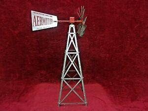"Vintage Aero Mfg. Co. Water Systems Windmill, Salesman Sample, 17""s Tall"