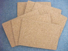 PROTECTIVE CORK CASSEROLE HOT MATS - MANY HOME USES - PACK OF SIX