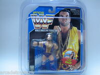 Empty 5 (FIVE) PACK OF WWF HASBRO CLEAR PROTECTIVE DISPLAY FOR MOC FIGURES