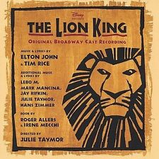 Broadway The Lion King Broadway Soundtrack