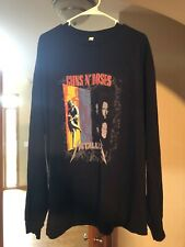 "New listing Guns n Ros 00004000 es Metallica ""vintage 1992� tour shirt Long Sleeve Xxl"