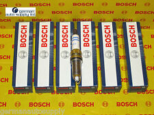 BMW 6 pcs. Spark Plug Set - BOSCH - 0242145515 / ZR5TPP33 - NEW OEM Plugs