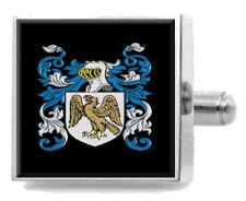 Abercromby Escocia Familia Crest apellidos Escudo de Armas Clip de Corbata Grabado En Bolsa