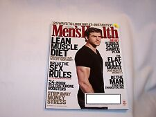 MEN'S HEALTH MAGAZINE September 2012 Lean Muscle diet Break Sex rules