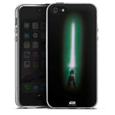 Apple iPhone 5 Silikon Hülle Case - lightsaber