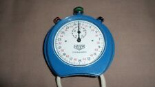 Vintage Heuer Trackmaster Stopwatch Blue