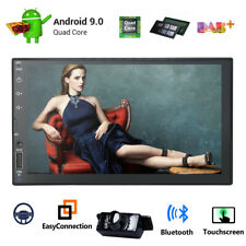 """Camera+Android 9.1 Car stereo GPS No DVD player 7"""" Tablet Double 2DIN Radio WiFi"""