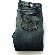 ROCK AND REPUBLIC Womens SIENNA Jeans Size 29 Mid Rise Straight Leg RRP$249 EUC