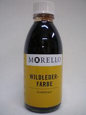 Morello Lederfarbe für Wildleder dunkelbraun 100ml