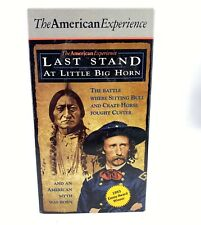 "The American Experience "" Last Stand At Little Big Horn "" 60 min VHS New Sealed"
