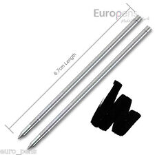 PenAgain ergo-sof ergonomique stylo-bille recharges (lot de 2) medium noir