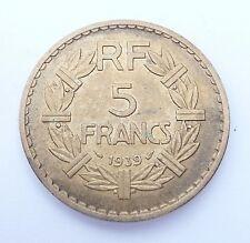 5 francs LAVRILLIER 1939