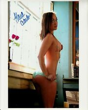 KARA CIARLO hand-signed TOPLESS HOT SEXY 8x10 CLOSEUP w/ uacc rd coa IN-PERSON