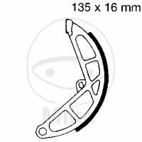 """/""""/""""POLINI 17601280 GANASCE FRENO 10/""""/"""" FRONT/"""" PIAGGIO 160 Vespa GS VSB1T 1962-1963"""