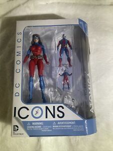 DC Comics Icons ATOMICA Action Figure - DC Collectibles 2016 - New in Box