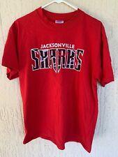 JACKSONVILLE SHARKS Arena Football League AFL Team Red Shirt Size Adult Large