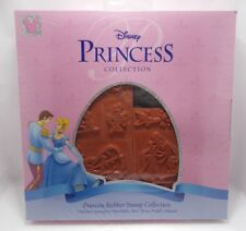 Disney princess 7 pcs rubber stamp collection new in box washable ink