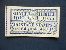 No Stamps Sg Bb16 Ed 300 George V 2/- Stamp Booklet Fords Blotting Paper Dubarry