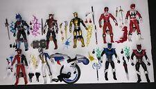 Power Rangers Lightning Lot Set Blaze Lost Time SPD Omega Shadow Psycho Red Blue