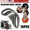 "15PC 1"" X 30""Abrasive Sanding Belts Aluminum Oxide Belt Sander 600 800 1000 Grit"