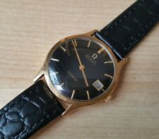 Men's Vintage 1969 .375 9ct Gold Omega Geneve Automatic Wrist Watch
