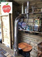 More details for nice chrome peroni pump full set up outside bar man cave mobile bar beer equip