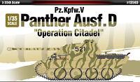 "1/35 Pz.kpfw.V Panther Ausf.D ""Operation Citadel"" #13503 ACADEMY MODEL KITS"