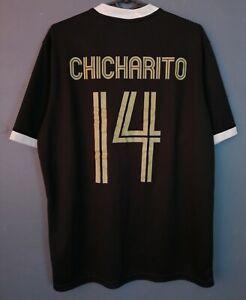 MENS NIKE MEXICO NATIONAL CHICHARITO SOCCER FOOTBALL SHIRT JERSEY MAILLOT SIZE L