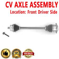 FRONT LEFT CV Axle For PASSAT Standard Transmission L4 1.8L  Turbocharged FWD