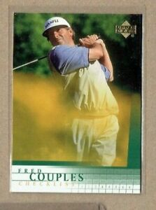 2001 Upper Deck Checklist Golf Card #198 Fred Couples
