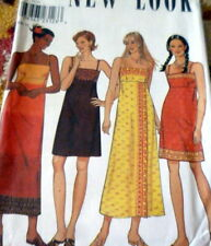 *LOVELY VTG DRESS NEW LOOK Sewing Pattern 6-8-10-12-14