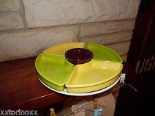 Fiesta 6 pc Relish Entertaining set White tray claret bowl omni  new fiestaware