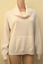 Cashmere Patternless Cowl Neck Jumpers & Cardigans for Women