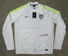 NWT Nike USA Soccer Storm Fit Long Sleeve Pullover Jersey Sz L (643848 102) US