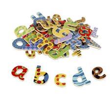 John Crane Tidlo Wooden Lowercase Magnetic Letters Ideal Fridge Letters
