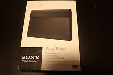Brand New OEM Sony SGPCK1 Black Leather Carrying Case for Tablet S! SHIP FAST