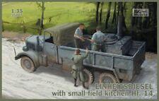 1/35 IBG 35007 Kfz.61 EINHEITSDIESEL with Small Field Kitchen Hf.14