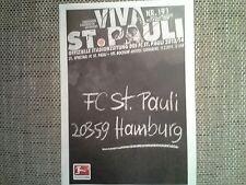 Programm FC St.Pauli - VfL Bochum 13/14