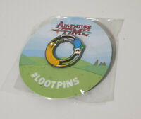 LOOTCRATE LIMITED EDITION LOOTPIN ADVENTURE TIME 2018! NEW IN PACKET!