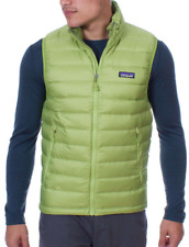 New Patagonia Men's Down Sweater Vest. Supply Green. Size Small