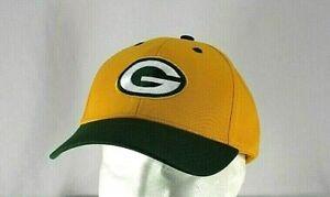 Green Bay Packers Yellow/Green Baseball Cap Adjustable